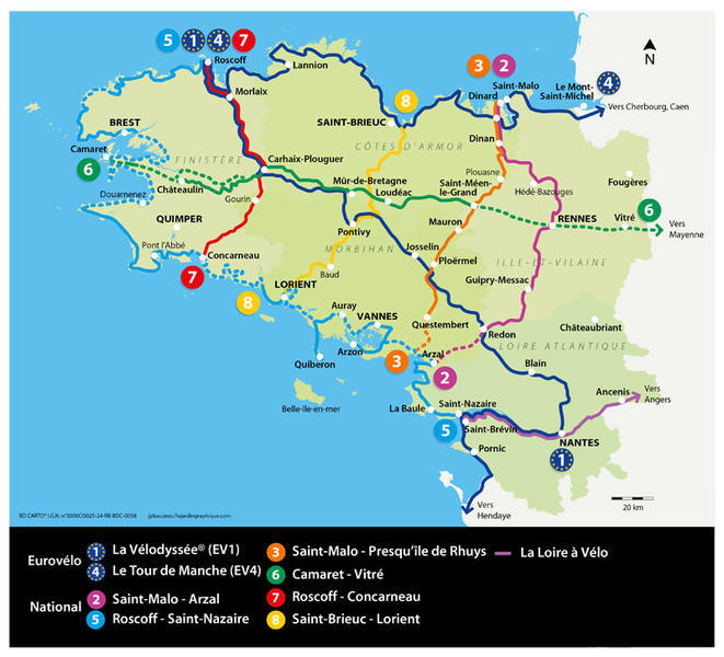 Carte Bretagne Velo.Ressources Externes Le Rheu A Velo